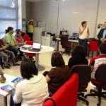 Actividad en un centro Guadalinfo