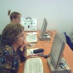 Dos Usuarias en un centro Guadalinfo