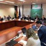 Imagen de la reunión del Consejo Rector celebrada en Sevilla.
