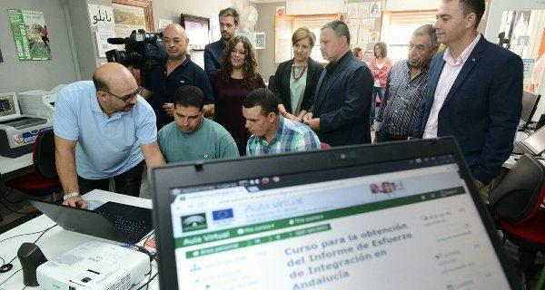Presentación curso on line personas extranjeras informe positivo de esfuerzo de integración